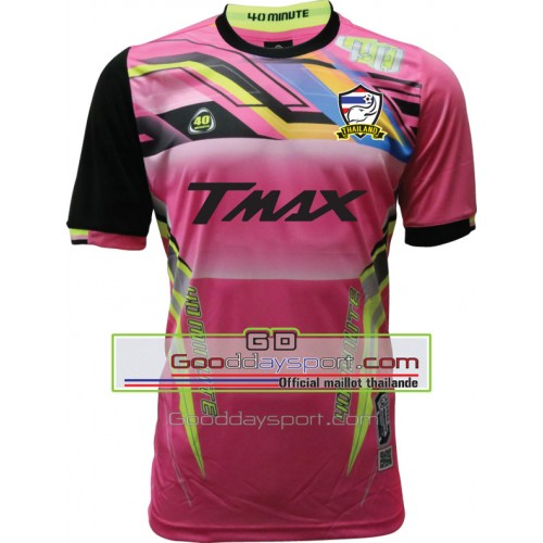 Maillot thailande Tmax 40Minute 2016 Rose