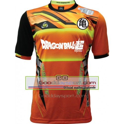 Maillot thailande DragonballZ 40Minute 2016 Orange