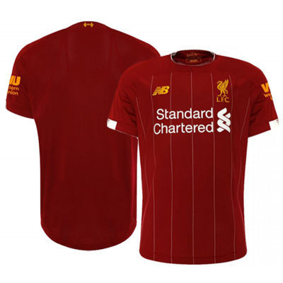 Liverpool home kit football shirt 2019/20