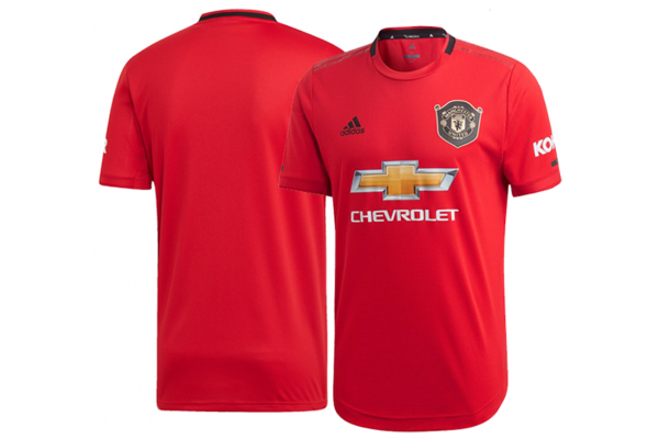 Manchester United home kit football shirt 2019/20