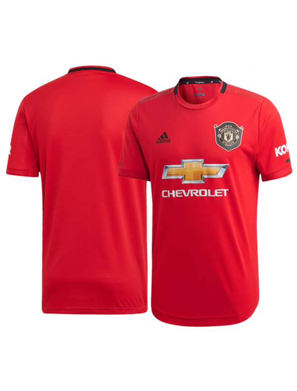 buy online cf8c1 d6cc2 Manchester United home kit football shirt 2019/20