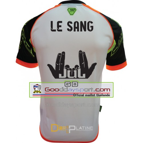 Le Sang Maillot thailande 90Minute  MM6 2017 Blanc