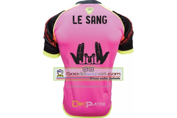Le Sang Maillot thailande 90Minute  MM6 2017 Rose