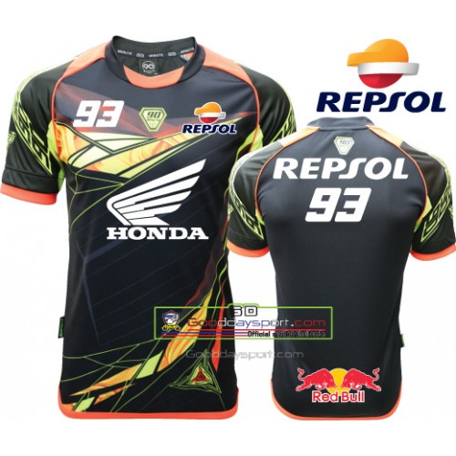 Red Bull Repsol 93 Maillots Thailand 90Minute MM6 (Noir)