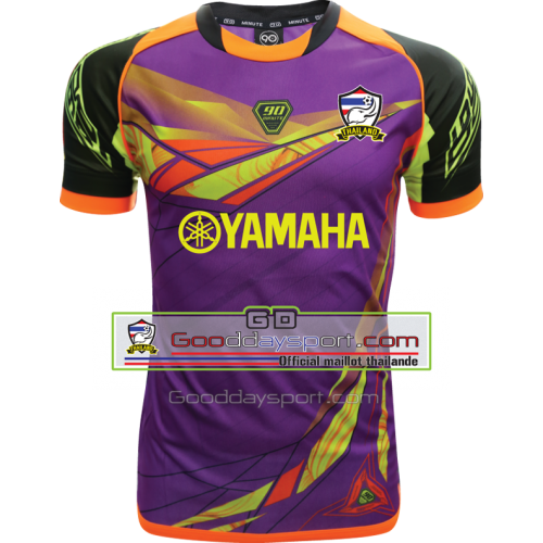 Maillot thailande Yamaha 90Minute MM6 2017 Purple