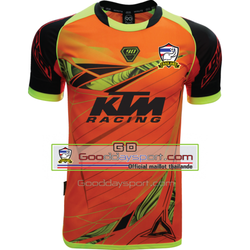 Maillot thailande KTM 90Minute MM6 2017 Orange