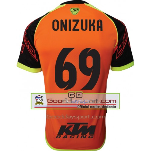 Maillot thailande KTM 90Minute  MM6 2017 Onizuka # 69 Orange