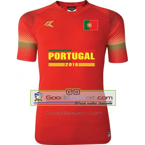 Maillots thailande Portugal world cup 2018 Real 006 Red